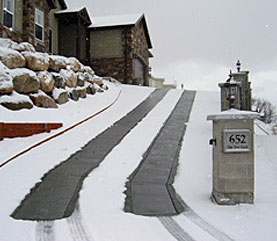 Snow Melting Systems Radiant Heated Driveways