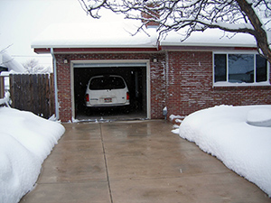 ClearZone heated driveway.